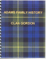Adams Family History - Clan Gordon