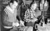 Rudolph Grohmann and Mike Babinec.Grohmann Knives Ltd.