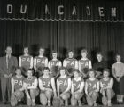 Pictou Academy Basketball 1959