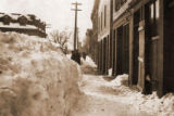 Church Street Snow Banks