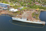 Aerial View of Pictou Shipyard 2010