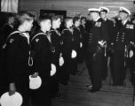 Sea Cadet Inspection 1950s