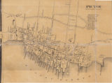 Topographical Township Map of Pictou Town Nova Scotia