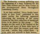 A short blurb about the American Home Magazine's journalists' visit to Nova Scotia for their Feb...