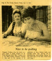 """Nice to be quilting"" - Friday, July 11, 1975"