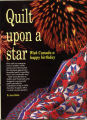 """Quilt upon a star"" - Canadian Living - January, 1992"