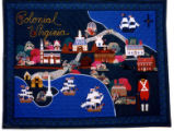 """Colonial Williamsburg"" / ""Colonial Virginia"" Quilt - 1995"