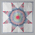 "Photo Set - ""Blazing Star"" Quilt variations"