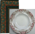 """Dinner Plate"" Commissioned Fabric - Fall-Winter 1992"