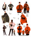 Canada Geese items - Inuit Designs - Fleece Collection - Fall-Winter 2000