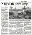 """A Tug At The Heartstrings..."" - Saturday, June 3, 2000"